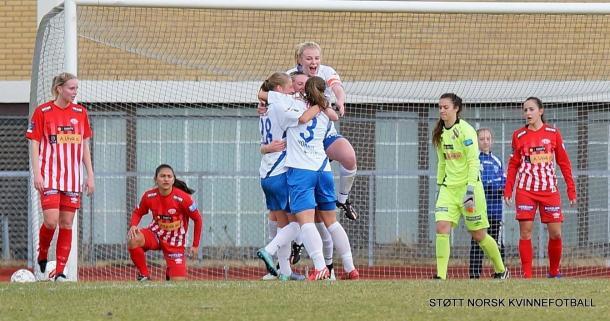 Can Kolbotn continue to rack up the points? (Photo: Støtt Norsk KvinneFotball)