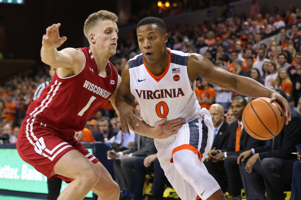 Hall was Virginia's offense early on/Photo: Geoff Burke/USA Today Sports