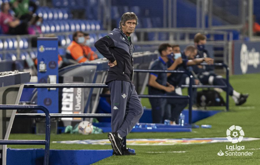 Pellegrini ante el Real Madrid | Foto: LaLiga Santander