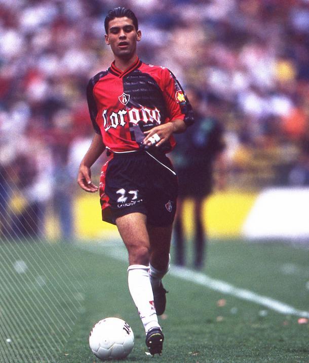 Rafael Márquez, máximo referente de la cantera rojinegra. / Fuente: Atlas FC