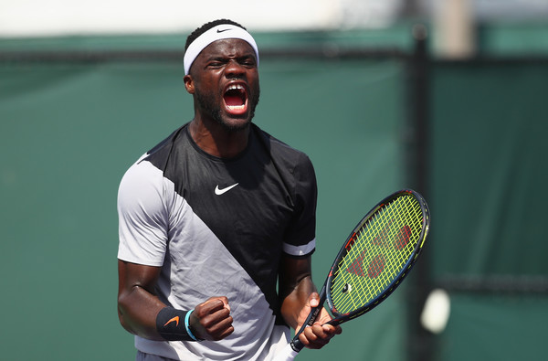 Frances Tiafoe had the best run of his career at a Masters 1000 event this past week in Miami. Photo: Clive Brunskill/Getty Images