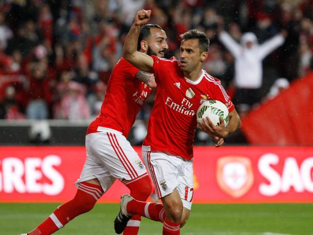 Jonas marcou o seu 31º golo no campeonato // Foto: Facebook do SL Benfica