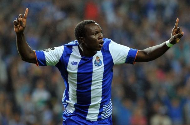 Aboubakar celebrou o quarto golo do FC Porto // Foto: Facebook do FC Porto