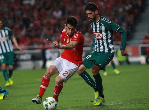 As águias estiveram em destaque na primeira parte // Foto: Facebook do SL Benfica
