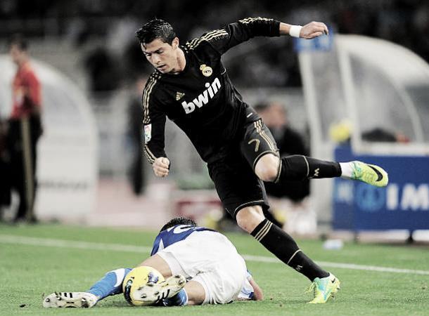 Cristiano Ronaldo em 2011, na última vez que jogou no Anoeta | Foto: Denis Doyle/Getty Images