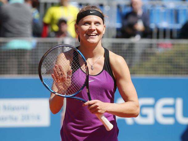 Safarova gets it done in a tiebreak | Photo: Pavel Lebeda