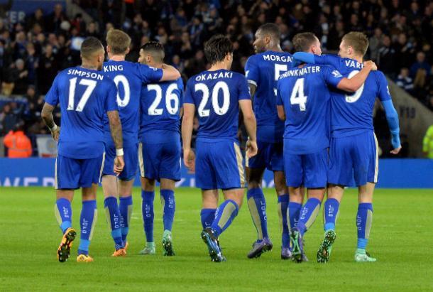 Los héroes del Leicester City. Foto: Leicestermercury
