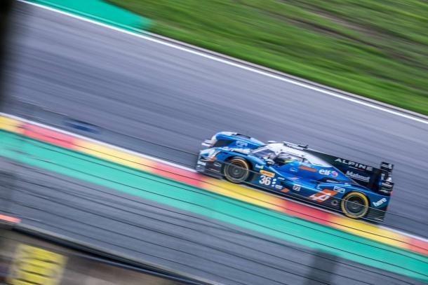 Alpine vence na classe LMP2. (Foto: FIAWEC)