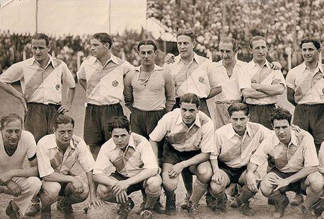 FOTO. El equipo de la Copa Competencia 1936