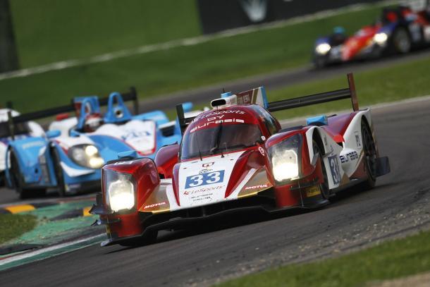Eurasia Motorsports fica com o melhor tempo na classe LMP2. (Foto: Eurasia)