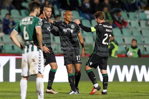 O médio leonino tem o melhor golo da temporada até agora - Foto: Facebook do Sporting CP