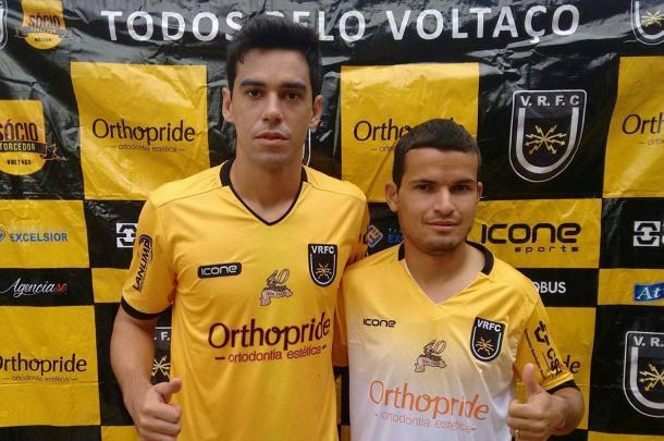 George Xavier e Osmar foram apresentados na sexta-feira (13) | Foto: Divulgação/Volta Redonda F.C.