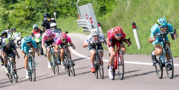 Gran lucha en la etapa | Foto: Giro de Italia