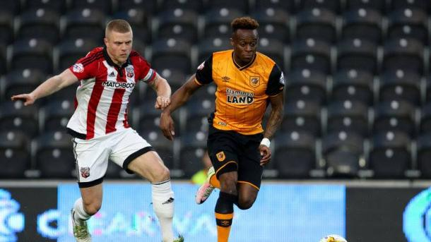 Moses Odubajo could be key for Hull. | Image: Sky Sports