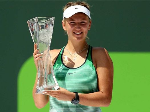 Azarenka's most recent title in 2016 came at the 2016 Miami Open, where she defeated Svetlana Kuznetsova. Credit: AFP