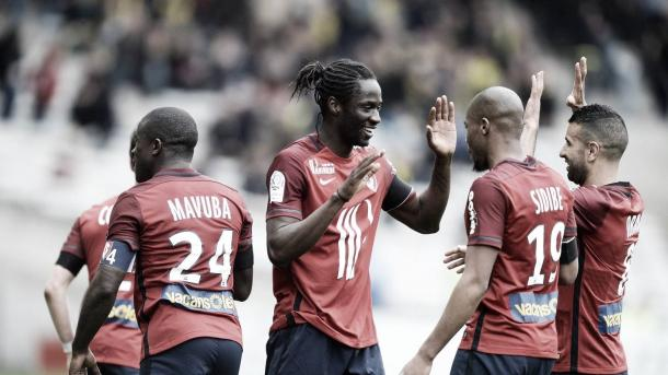 Éder (centre) has enjoyed great form with Lille. (Photo: Jean-Sebastien Evrard)