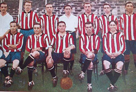 FOTO: El equipo de la única liga en la era amateur. 1920.