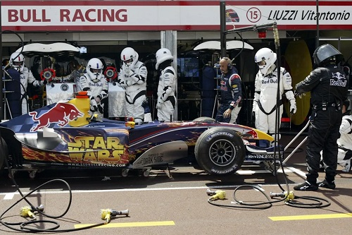 GP de Mónaco 2005. Foto: Red Bull Racing