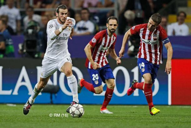 Bale foi um dos jogadores a brilhar nos penálties // Foto: Facebook do Real Madrid C.F.
