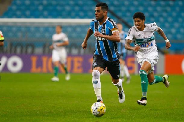 Grêmio teve tranquilidade para administrar vitória na segunda etapa (Foto: Divulgação/Grêmio)