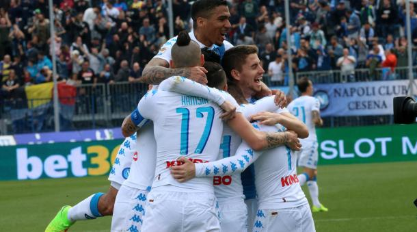 Il Napoli, cooperativa del gol. Fonte foto: tuttosport.it