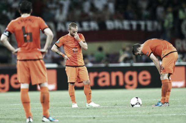 Desastrosa Eurocopa 2012 de Holanda. Foto: UEFA.com