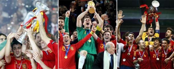 2008, 2010,2012: Spagna pigliatutto! | Foto: Marca.com