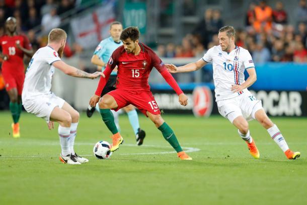 André Gomes foi um dos jogadores em maior destaque // Foto: Facebook Seleções de Portugal