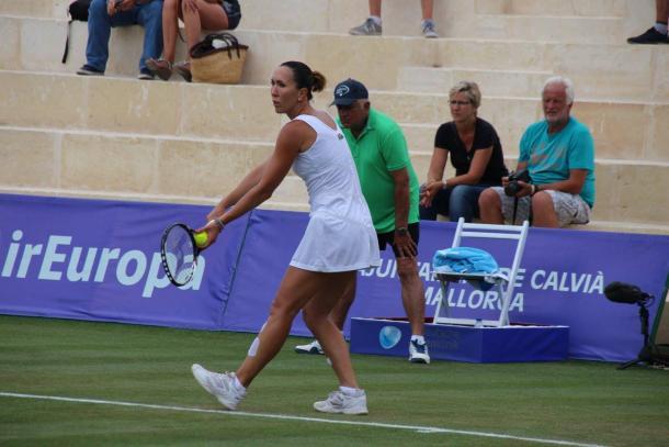 Jankovic at the Mallorca Open (Source: Mallorca Open)