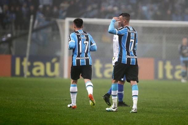 Luan é o artilheiro do Grêmio na temporada   Foto: Divulgação/Grêmio