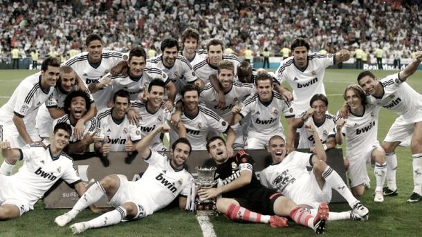 Última Supercopa de España ganada por el Real Madrid | Foto: Twitter oficial Real Madrid