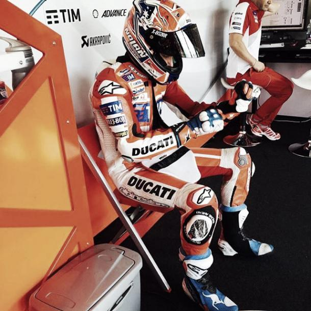 Casey Stoner also took part in the test for Ducati in Misano