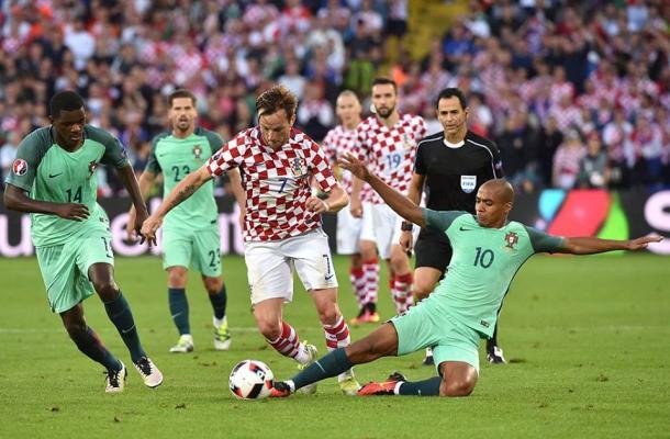 Portugal e Croácia melhoram muito no segundo tempo | Foto: Facebook UEFA Euro 2016