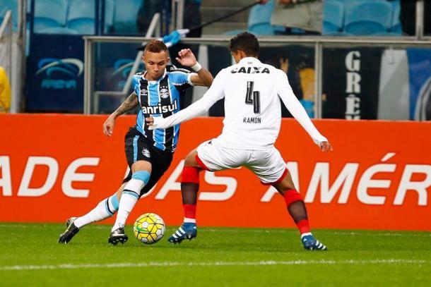 O Grêmio foi derrotado por 2 a 1 para o Vitória e perdeu sua primeira partida dentro da Arena no Brasileirão (Foto: Divulgação/Grêmio)