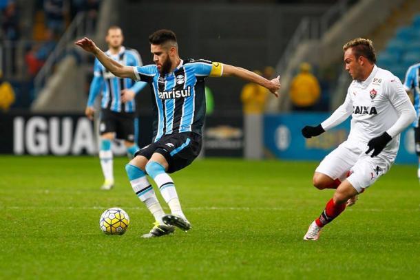 Grêmio foi derrotado pelo Vitória na Arena (Foto: Divulgação/Grêmio)