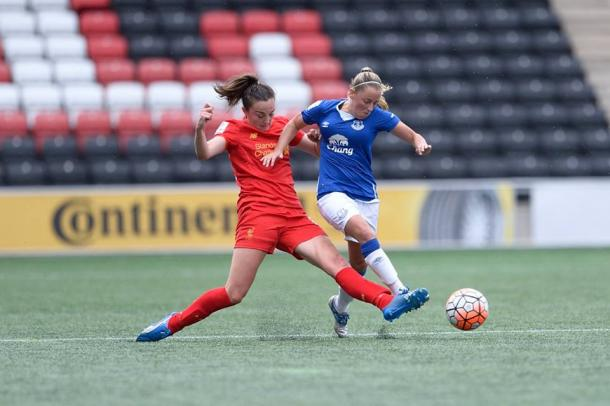 Everton showed they're capable of mixing it with the best after suffering a narrow 1-0 defeat to Liverpool in the Conti Cup this Summer (credit: Everton LFC)