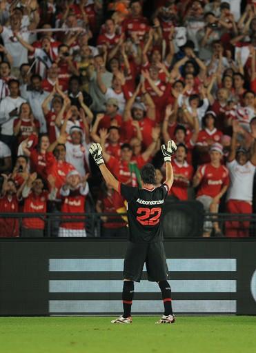 Abbondanzieri en su último partido profesional. Fuente: FIFA.com
