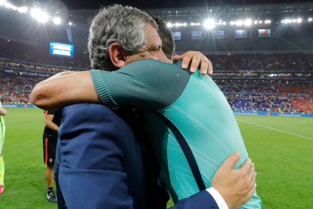 Fernando Santos confia em Cristiano Ronaldo e no seu talento // Foto: Facebook Seleções de Portugal