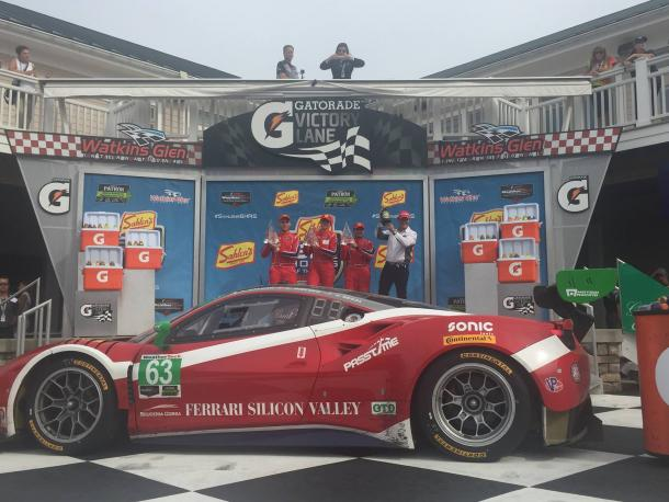 Scuderia Corsa vence na classe GTD. (Foto: Scuderia Corsa)