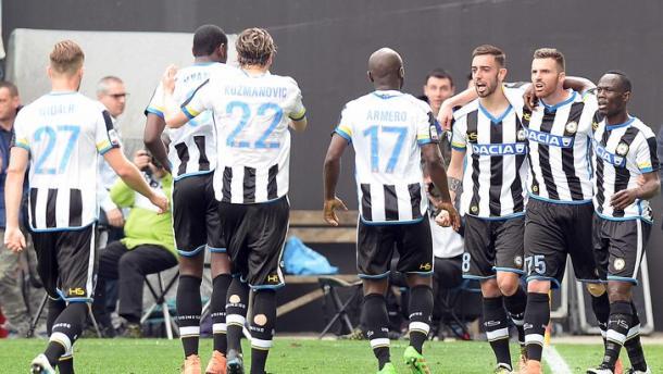Udinese padrona nell'ultimo confronto. Fonte foto: it.eurosport.com
