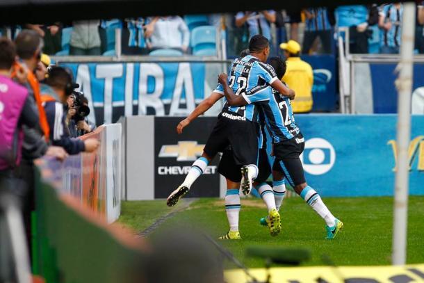 Tricolor bateu o São Paulo por 1 a 0, com boa atuação coletiva (Foto: Divulgação/Grêmio)