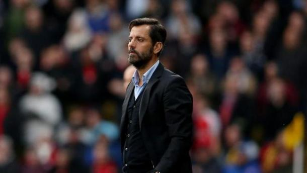 Flores' disappointment at defeat shows just how impressive Watford's form has been. (Image credit: BT Sport)