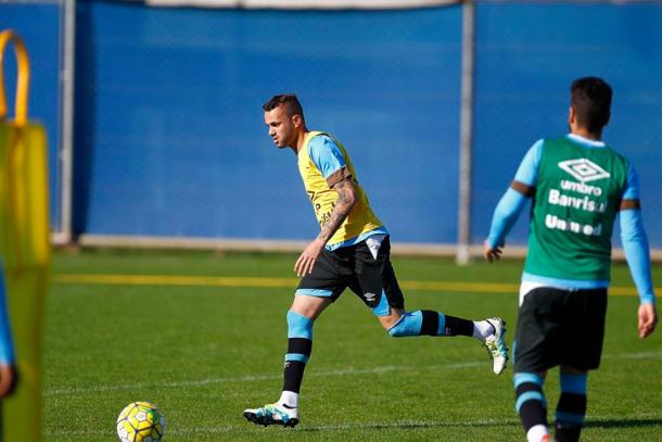 Luan fará seu último jogo antes de se apresentar na Seleção Olimpíca (Foto: Divulgação/Grêmio)