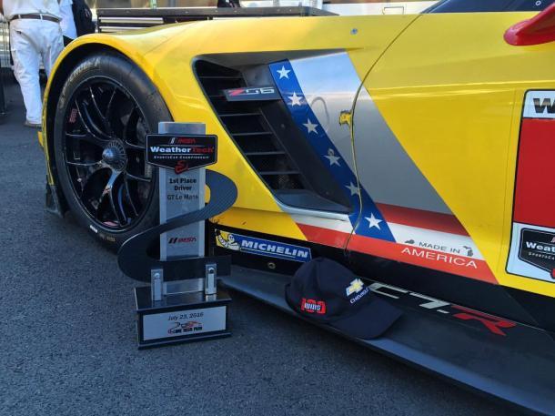 Corvette comemora 100º vitória com dobradinha. (Foto: Tommy Milner)