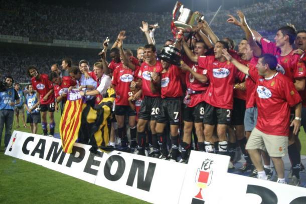 La Copa del Rey, segundo título.