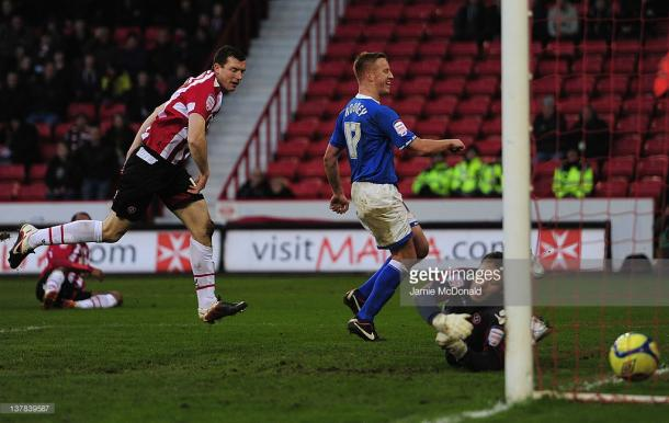 Adam Rooney scored twice the last time these two sides met in The FA Cup. (picture: Getty Images / Jamie McDonald)