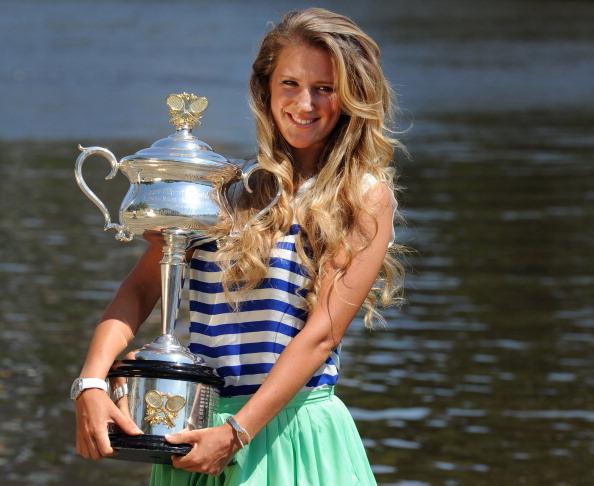 Azarenka, when she won her first Grand Slam | Photo courtesy of: