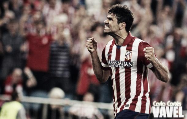 Diego Costa quando ainda atuava pelo Atleti