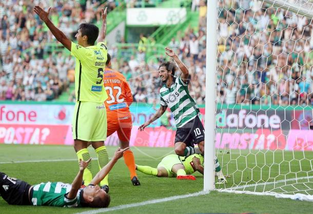 Bryan Ruiz fechou o marcador // Foto: Facebook do Sporting CP