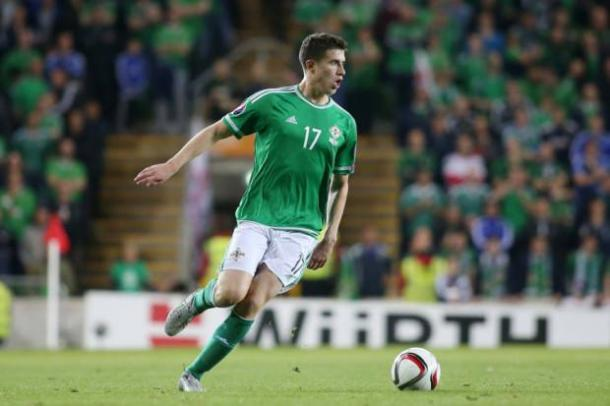 Paddy McNair may only be 21-years-old, but he has vast experience, with 11 senior caps for Northern Ireland on his CV. (Photo: PressEye)